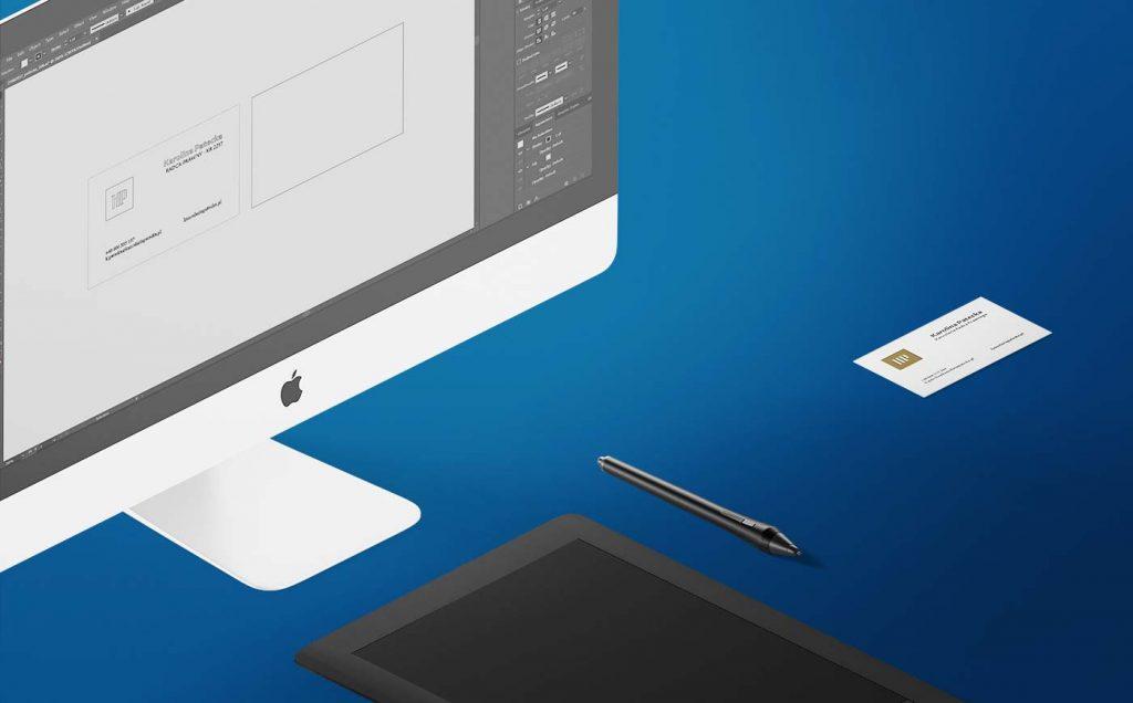 projektowanie wizytówek letterpress