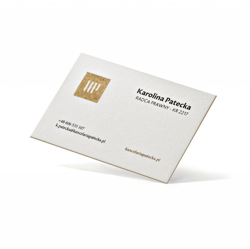 Wizytówki dla kancelarii