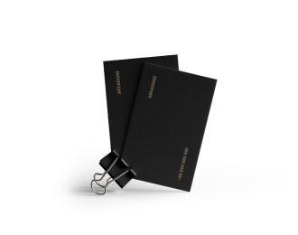 Tajemniczy klient – Wizytówki Letterpress