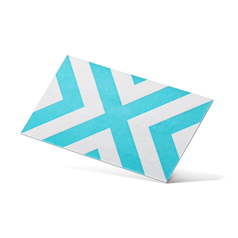 wizytówka letterpress dla agencji