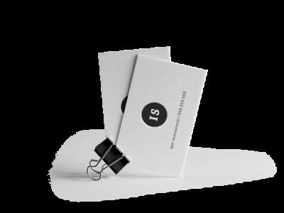 wizytówki letterpress miniatura